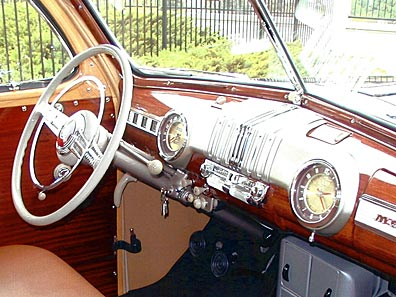 1946 Mercury Woody Dashboard