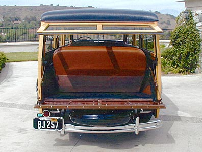 1946 Mercury Woody Tailgate Assembly